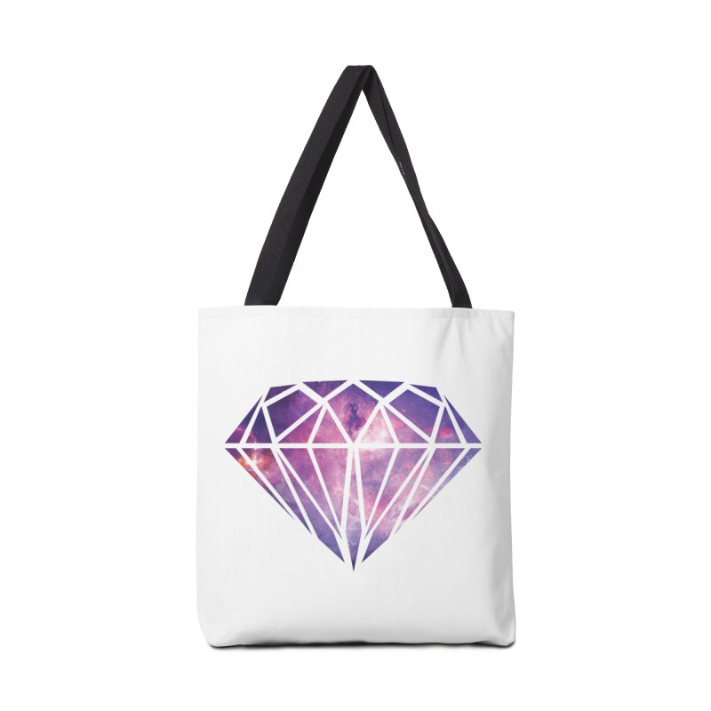 Galaxy Diamond Accessories Bag by tonydesign's Artist Shop