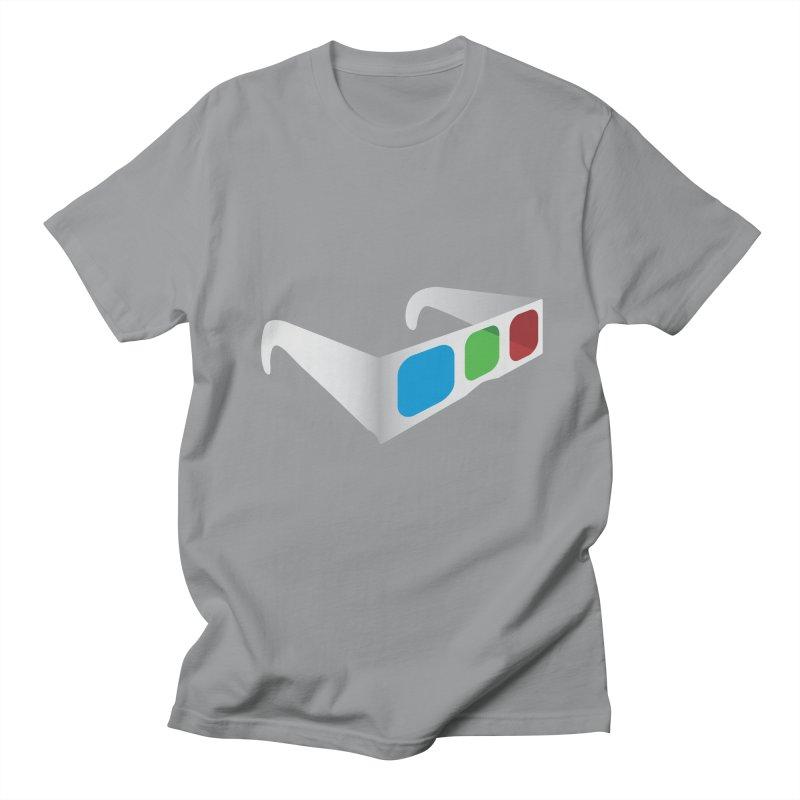4D Technology Men's T-shirt by tonydesign's Artist Shop