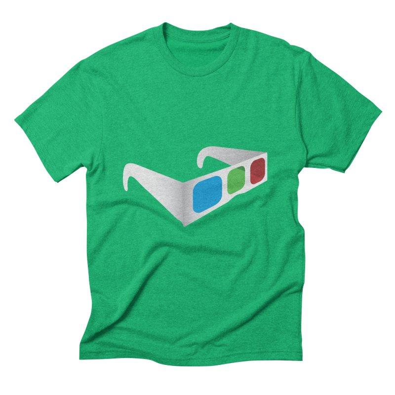 4D Technology Men's Triblend T-shirt by tonydesign's Artist Shop