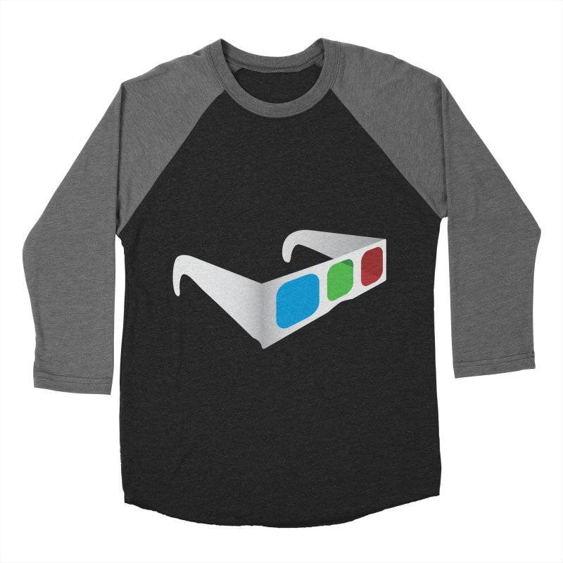 4D Technology Women's Baseball Triblend T-Shirt by tonydesign's Artist Shop