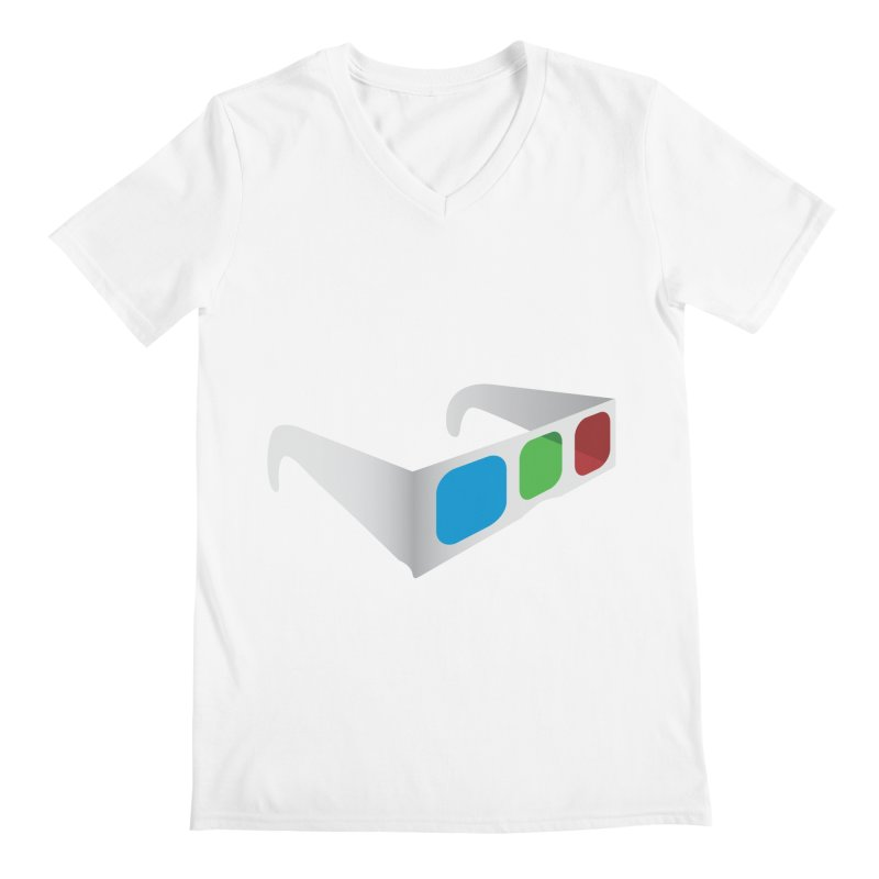 4D Technology Men's V-Neck by tonydesign's Artist Shop