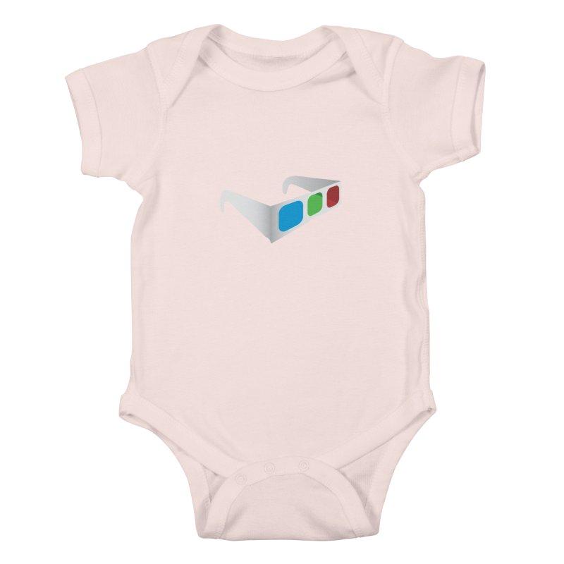 4D Technology Kids Baby Bodysuit by tonydesign's Artist Shop