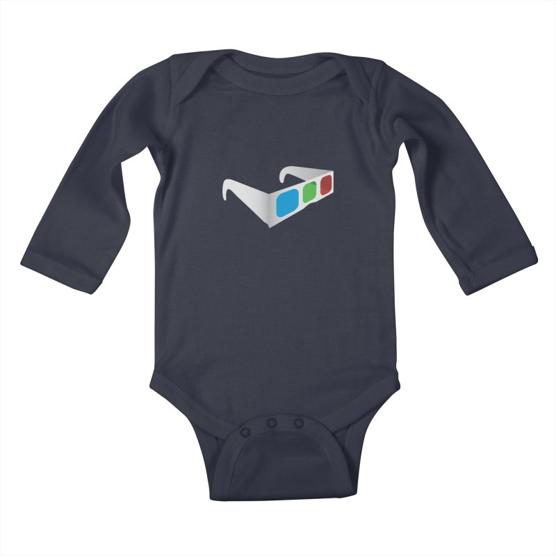 4D Technology Kids Baby Longsleeve Bodysuit by tonydesign's Artist Shop