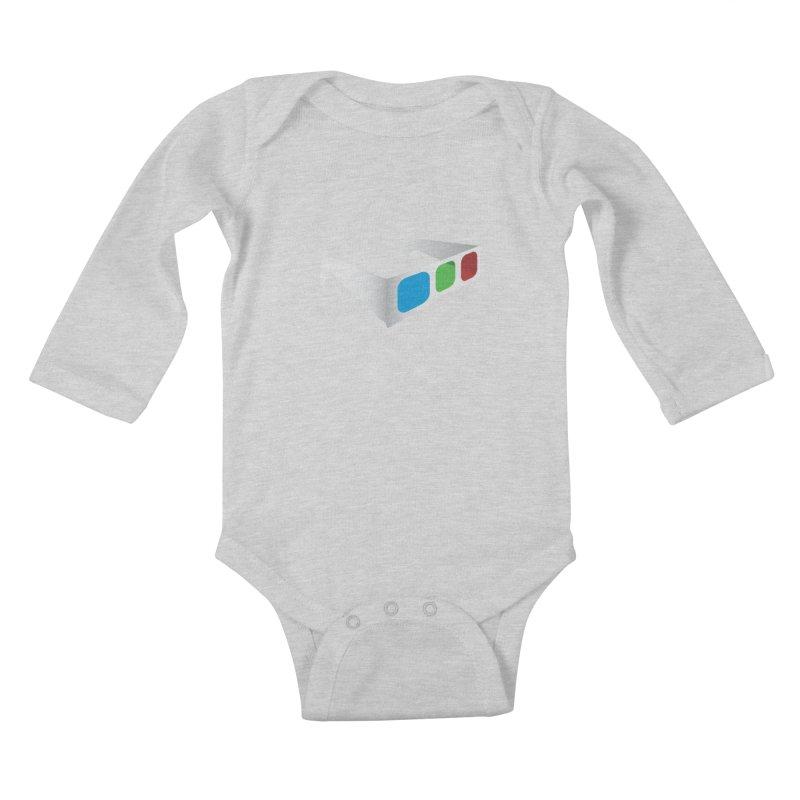 4D Technology Kids Baby Longsleeve Bodysuit by tonydesign's Artist Shop