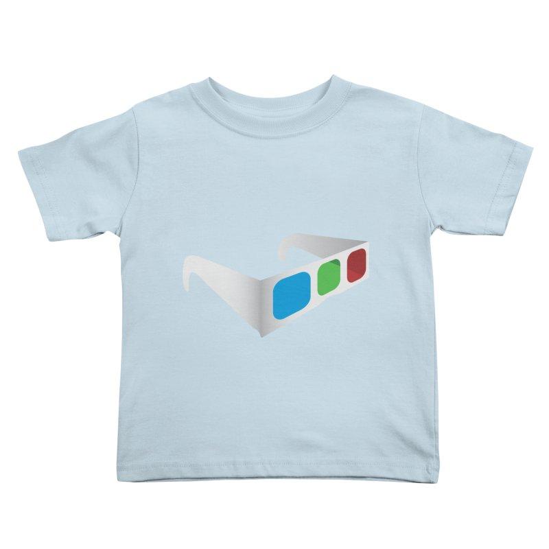 4D Technology Kids Toddler T-Shirt by tonydesign's Artist Shop