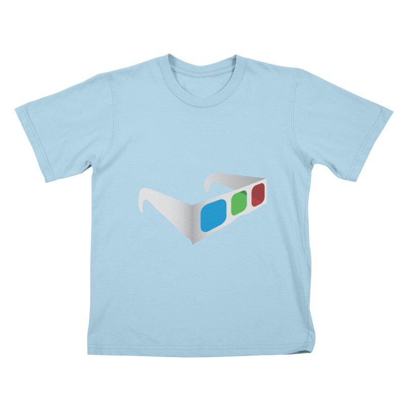 4D Technology Kids T-Shirt by tonydesign's Artist Shop