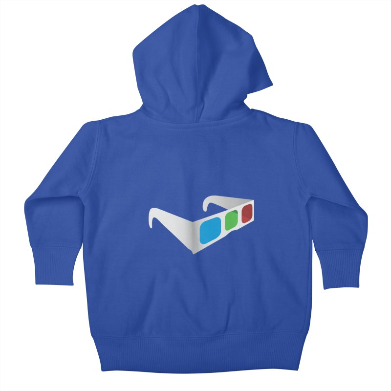 4D Technology Kids Baby Zip-Up Hoody by tonydesign's Artist Shop