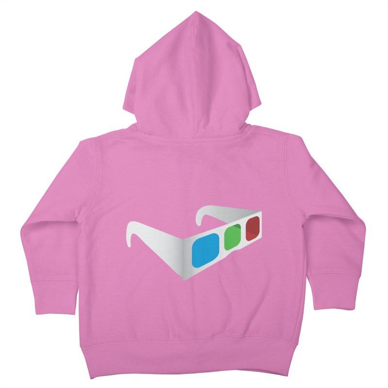 4D Technology Kids Toddler Zip-Up Hoody by tonydesign's Artist Shop