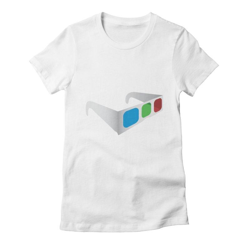 4D Technology Women's Fitted T-Shirt by tonydesign's Artist Shop
