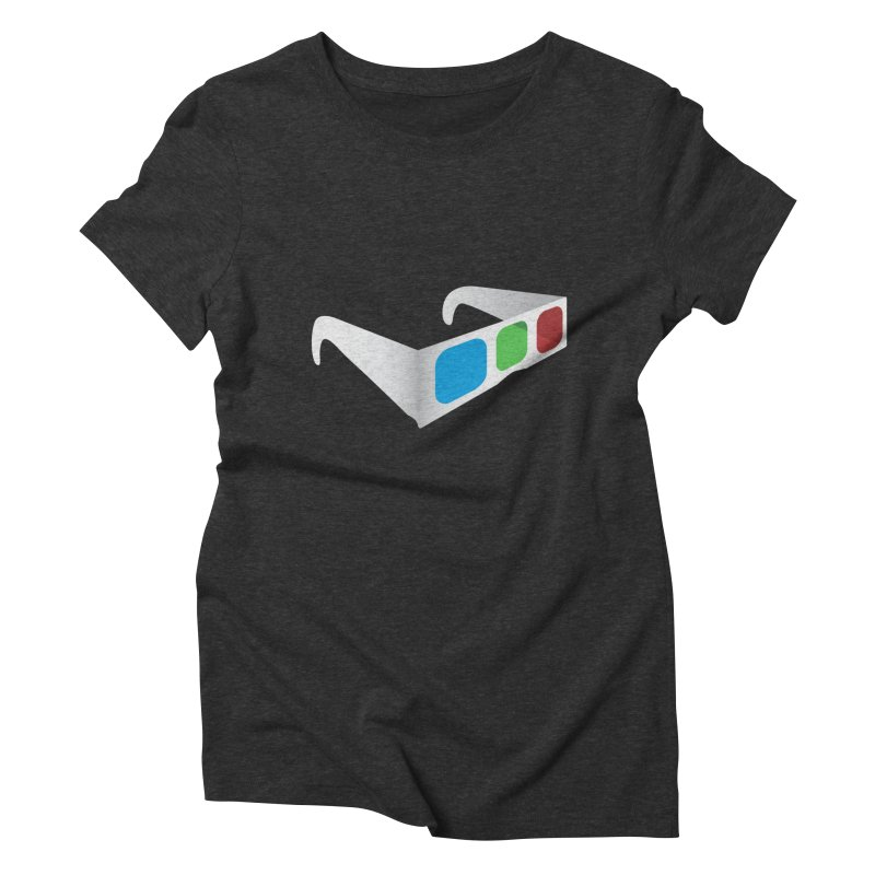 4D Technology Women's Triblend T-shirt by tonydesign's Artist Shop