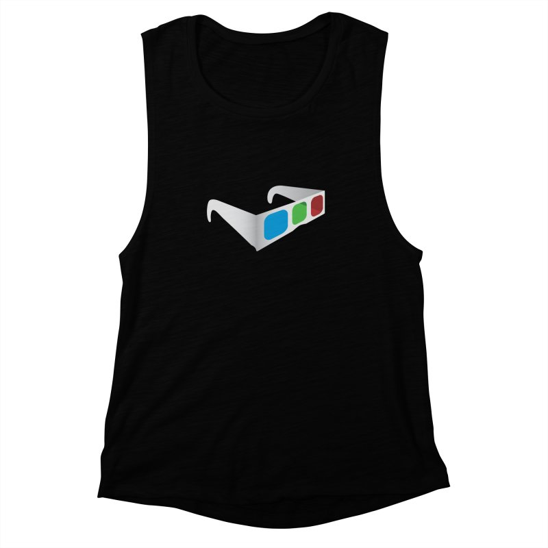 4D Technology Women's Muscle Tank by tonydesign's Artist Shop