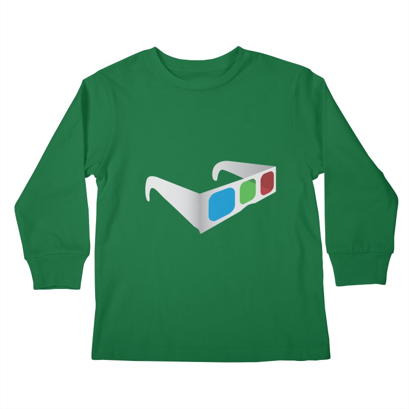 4D Technology Kids Longsleeve T-Shirt by tonydesign's Artist Shop