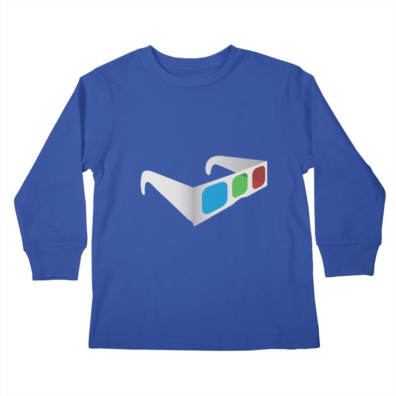 4D Technology Kids Longsleeve T-Shirt by tonydesign's Artist Shop