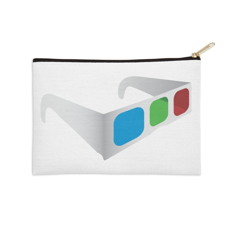 4D Technology Accessories Zip Pouch by tonydesign's Artist Shop