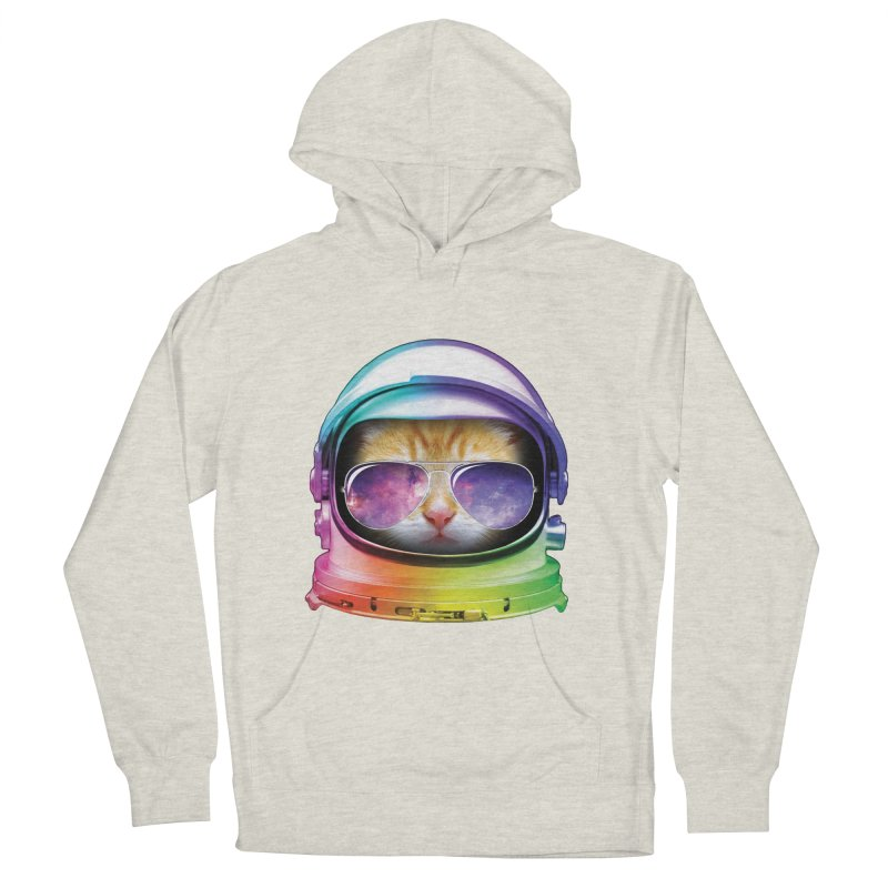 Kitty in Space Men's Pullover Hoody by tonydesign's Artist Shop