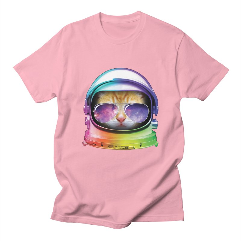 Kitty in Space Men's T-Shirt by tonydesign's Artist Shop