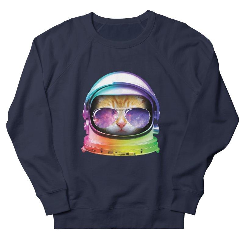 Kitty in Space Women's Sweatshirt by tonydesign's Artist Shop