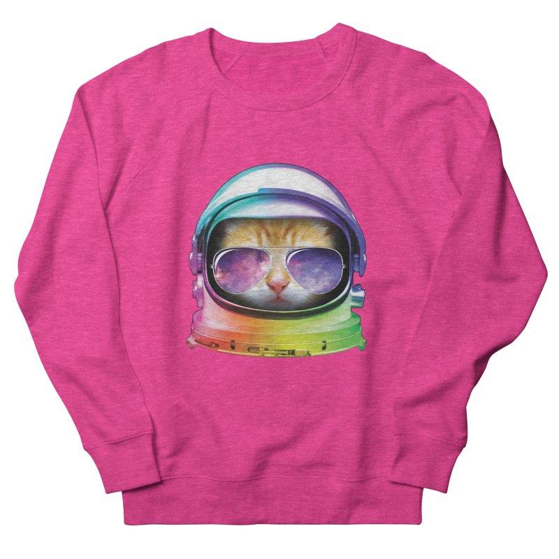 Kitty in Space Men's Sweatshirt by tonydesign's Artist Shop