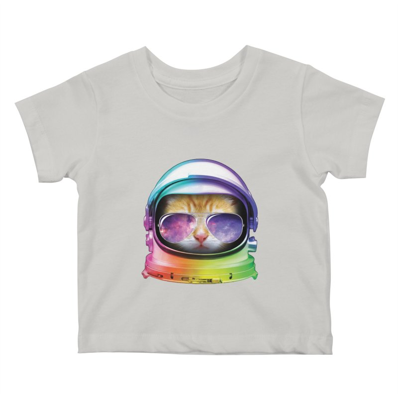 Kitty in Space Kids Baby T-Shirt by tonydesign's Artist Shop