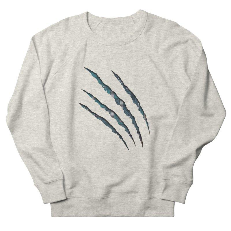 Digital Claw Attack Women's Sweatshirt by tonydesign's Artist Shop