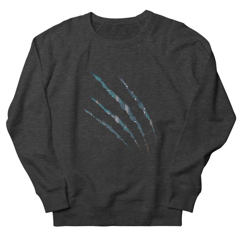 Digital Claw Attack Men's Sweatshirt by tonydesign's Artist Shop
