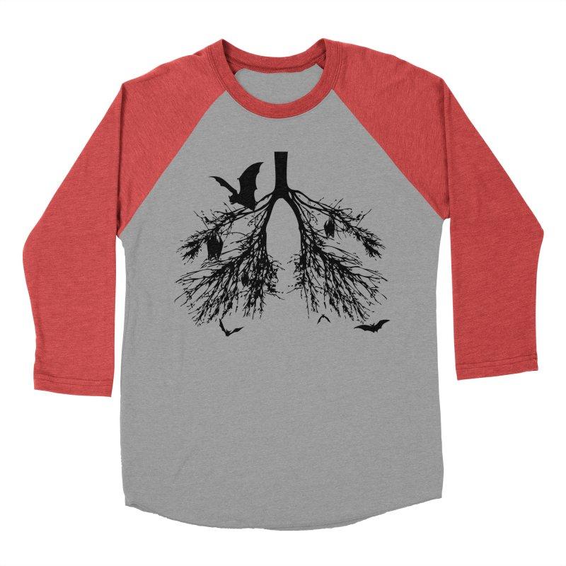 Bats in My Lungs Men's Baseball Triblend T-Shirt by tonydesign's Artist Shop