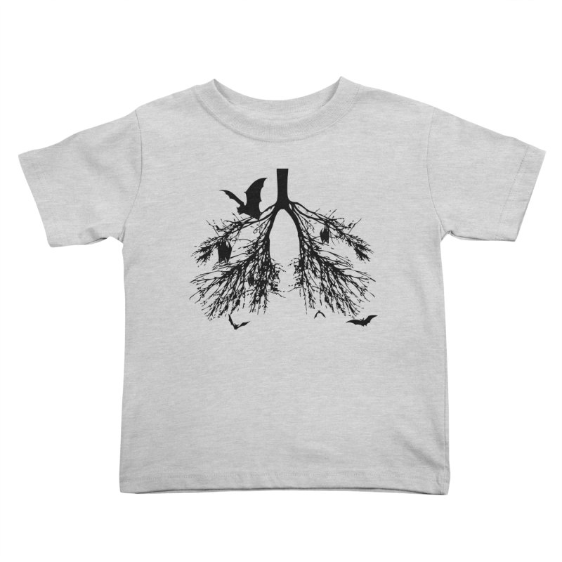 Bats in My Lungs Kids Toddler T-Shirt by tonydesign's Artist Shop