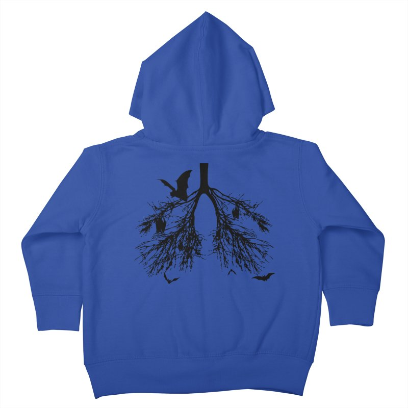 Bats in My Lungs Kids Toddler Zip-Up Hoody by tonydesign's Artist Shop