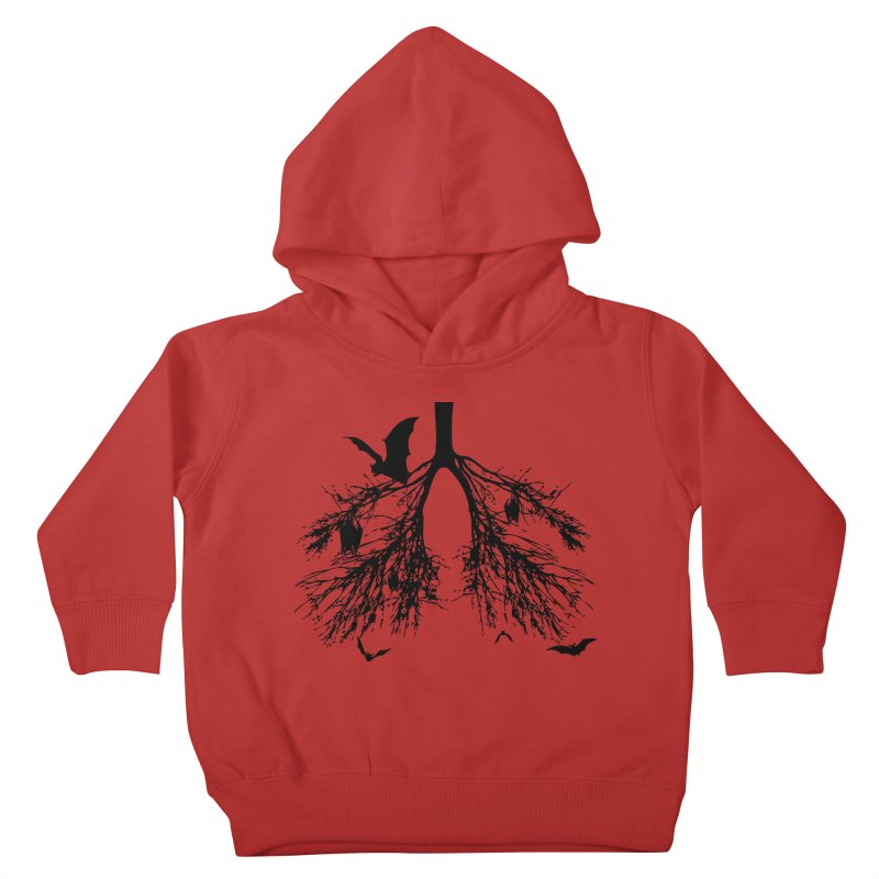 Bats in My Lungs Kids Toddler Pullover Hoody by tonydesign's Artist Shop