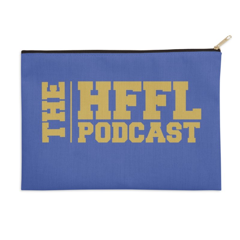 The HFFL Podcast Accessories Zip Pouch by tonynorgaard's Artist Shop