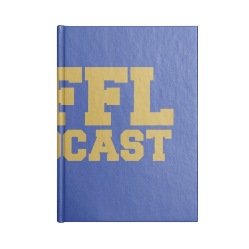 The HFFL Podcast Accessories Lined Journal Notebook by tonynorgaard's Artist Shop