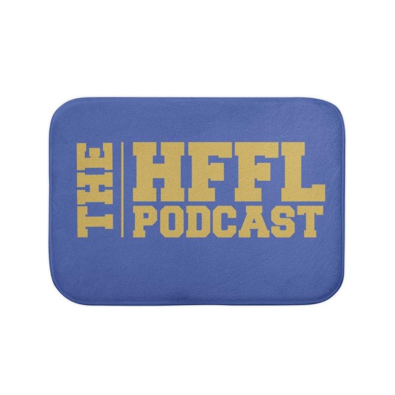 The HFFL Podcast Home Bath Mat by tonynorgaard's Artist Shop