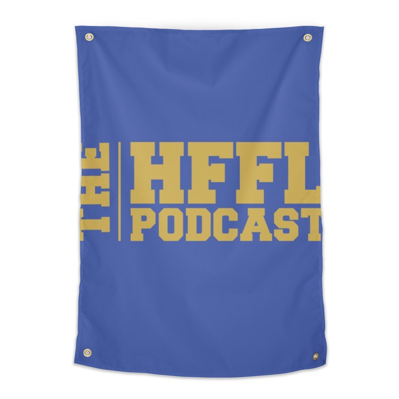 The HFFL Podcast Home Tapestry by tonynorgaard's Artist Shop