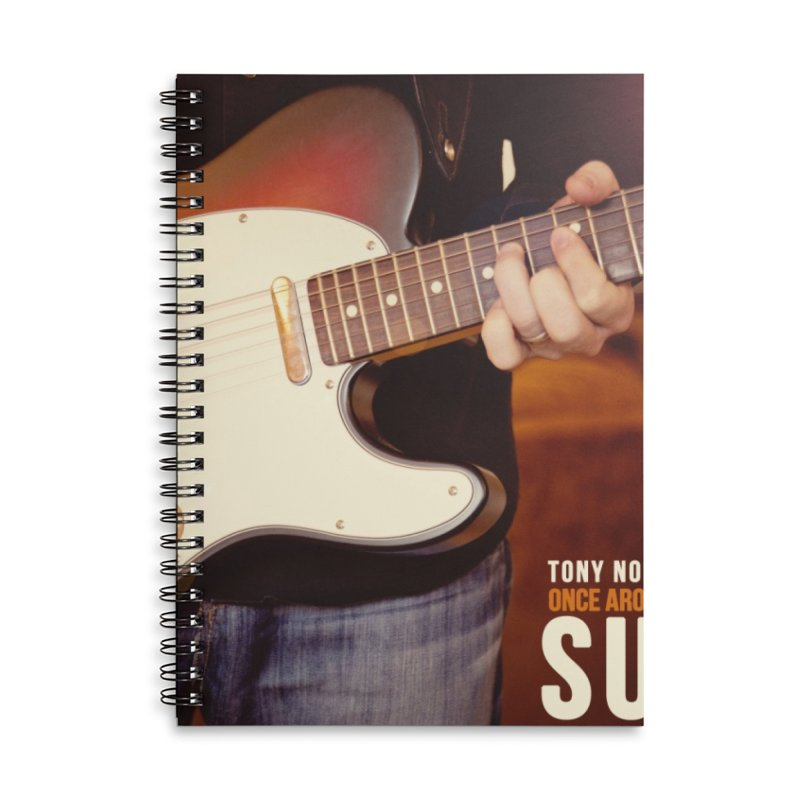 Once Around the Sun (2012) Accessories Lined Spiral Notebook by tonynorgaard's Artist Shop