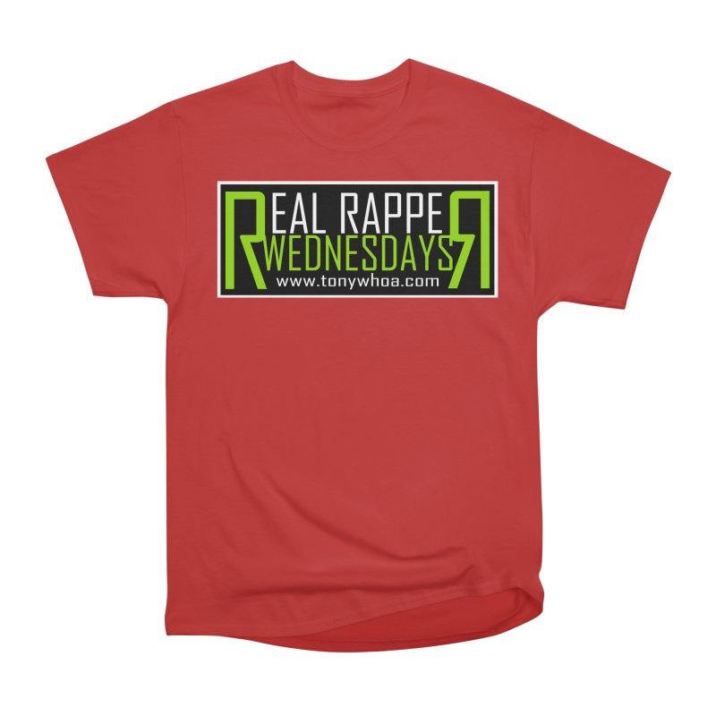 Real Rapper Wednesdays Men's Heavyweight T-Shirt by TonyWHOA!