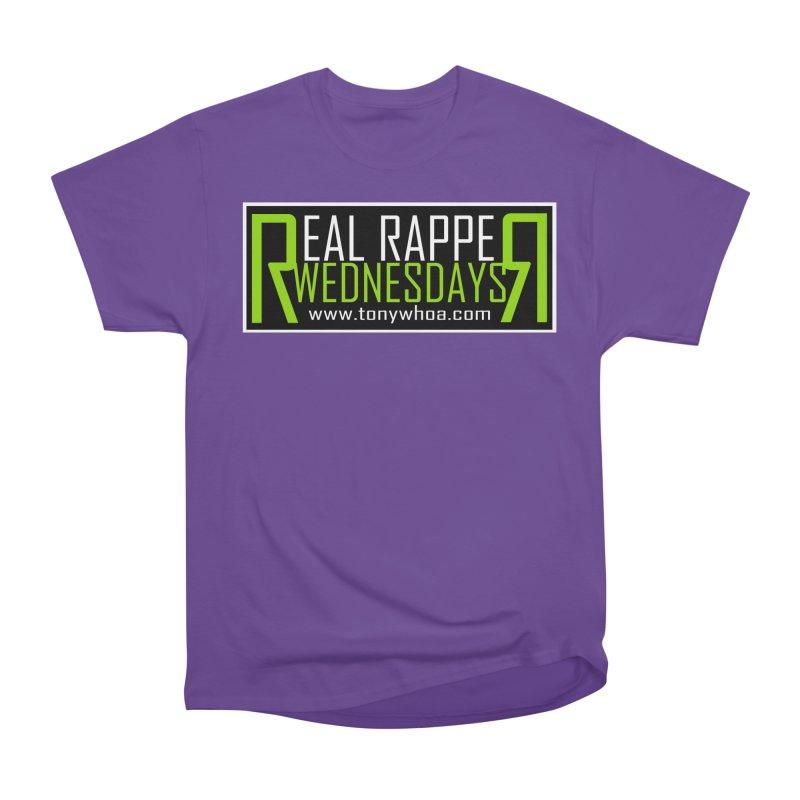 Real Rapper Wednesdays Men's Heavyweight T-Shirt by TonyWHOA! Artist Shop