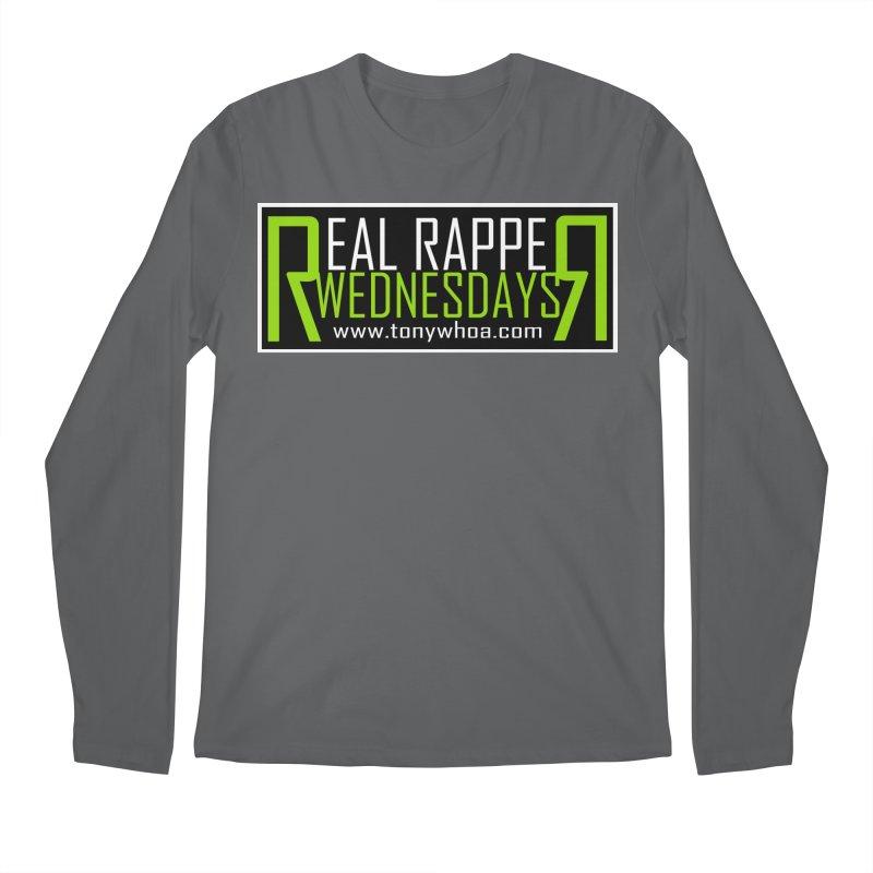 Real Rapper Wednesdays Men's Regular Longsleeve T-Shirt by TonyWHOA!