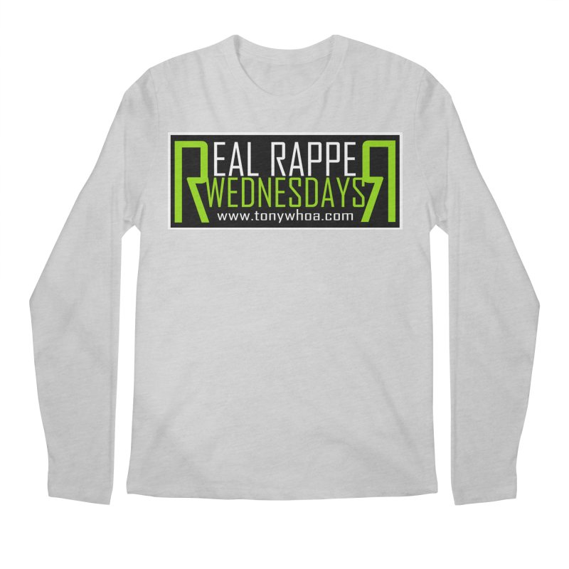 Real Rapper Wednesdays Men's Regular Longsleeve T-Shirt by TonyWHOA!