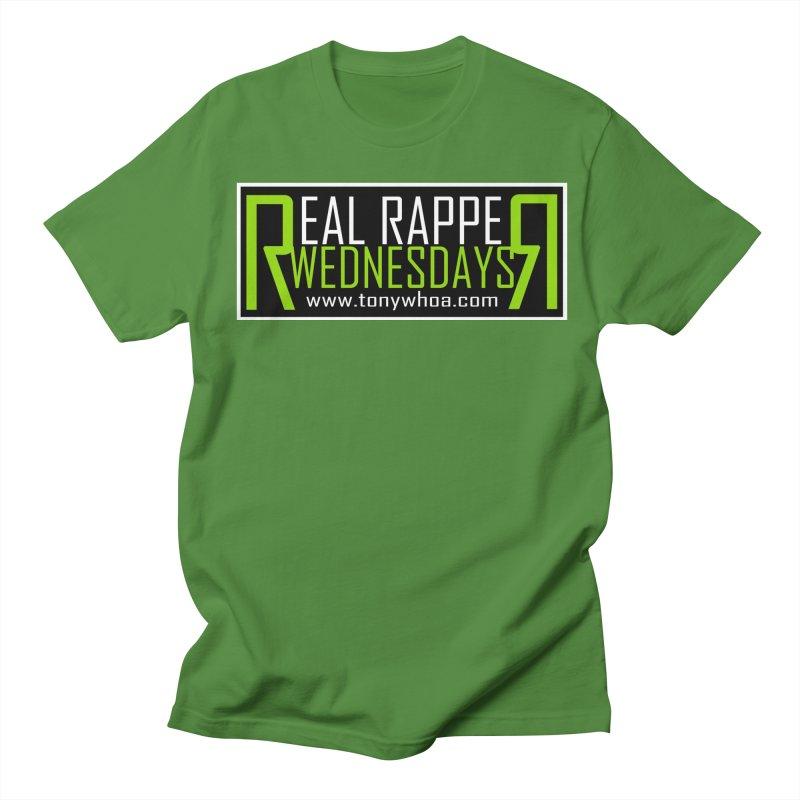 Real Rapper Wednesdays Men's T-Shirt by TonyWHOA! Artist Shop