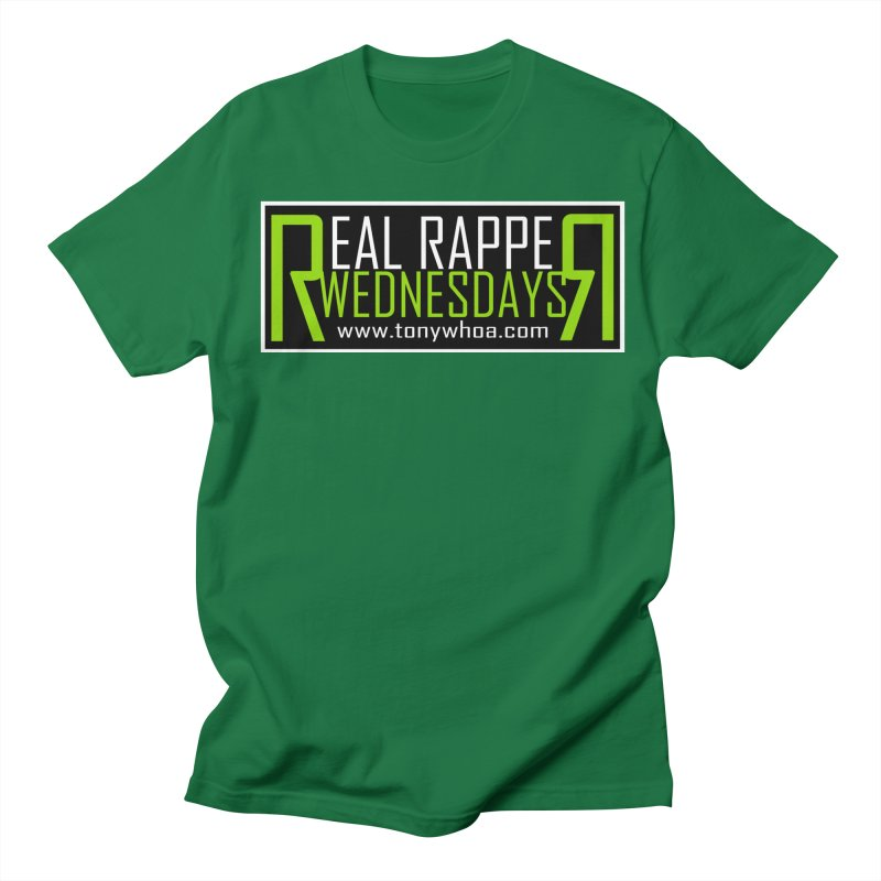 Real Rapper Wednesdays Men's Regular T-Shirt by TonyWHOA!