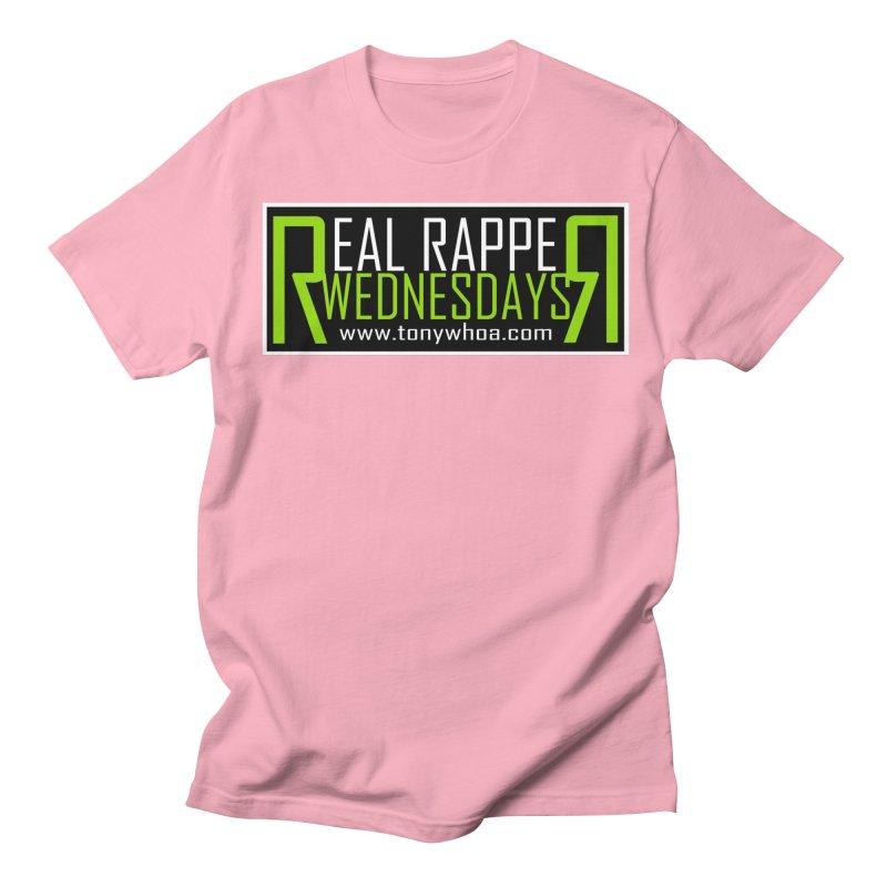 Real Rapper Wednesdays Men's Regular T-Shirt by TonyWHOA! Artist Shop
