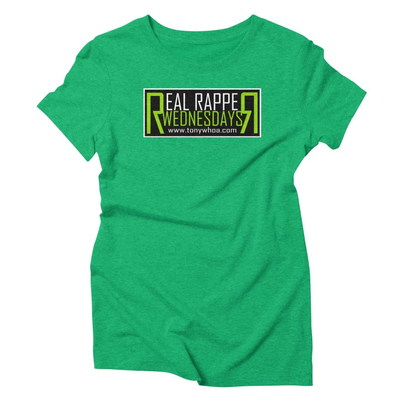 Real Rapper Wednesdays Women's Triblend T-Shirt by TonyWHOA!