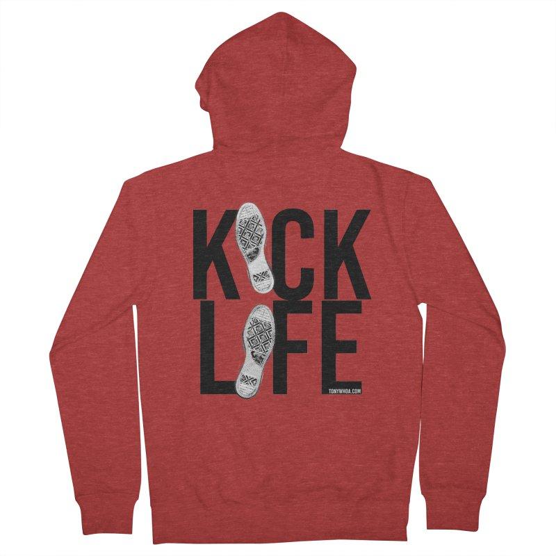 Kick Life Women's Zip-Up Hoody by TonyWHOA! Artist Shop