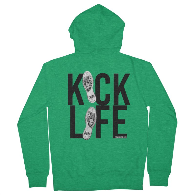 Kick Life Men's Zip-Up Hoody by TonyWHOA! Artist Shop