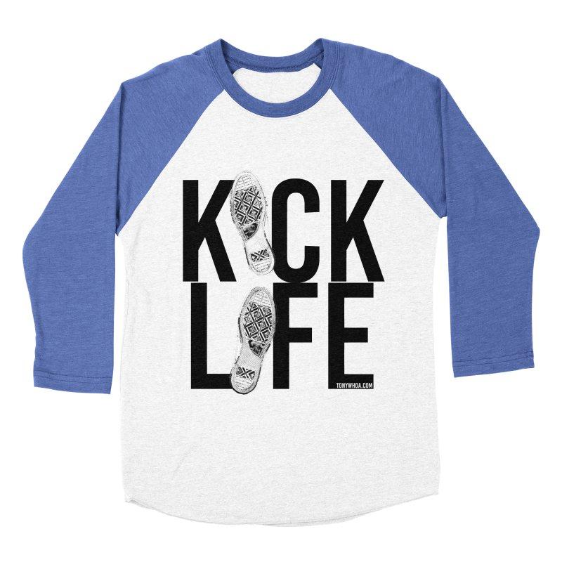Kick Life Men's Baseball Triblend T-Shirt by TonyWHOA! Artist Shop