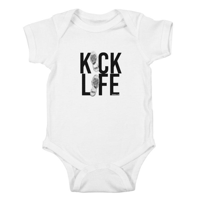 Kick Life Kids Baby Bodysuit by TonyWHOA!