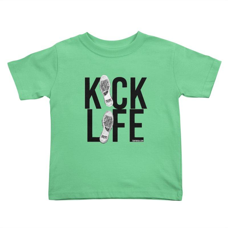 Kick Life Kids Toddler T-Shirt by TonyWHOA! Artist Shop