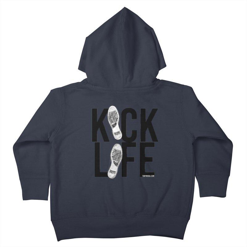 Kick Life Kids Toddler Zip-Up Hoody by TonyWHOA!