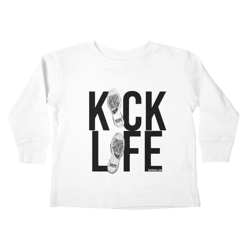 Kick Life Kids Toddler Longsleeve T-Shirt by TonyWHOA!