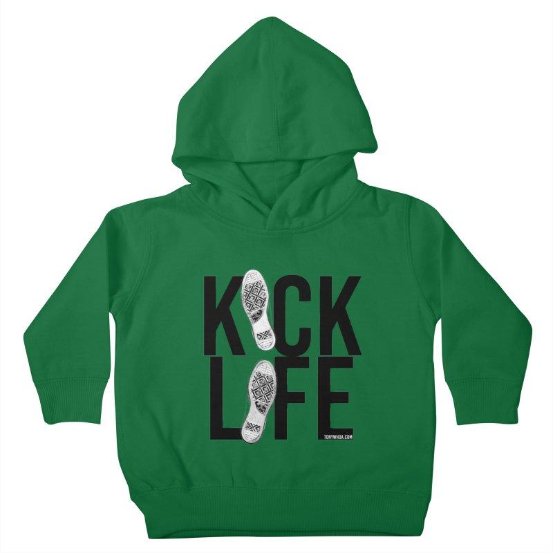 Kick Life Kids Toddler Pullover Hoody by TonyWHOA! Artist Shop